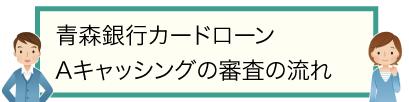 青森銀行カードローン Aキャッシングの審査の流れ