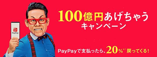 100億円キャンペーン