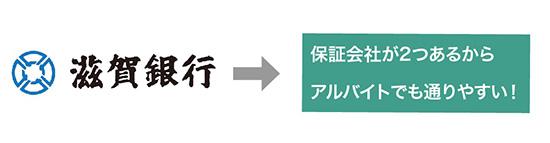滋賀銀行カードローンは、保証会社が2つあるから審査に通りやすい