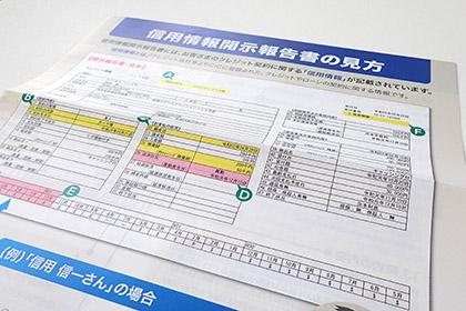 CIC開示報告書の見方のイメージ画像